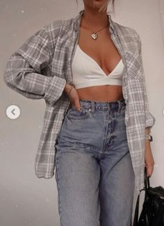 Trendy Summer Outfits, Cute Casual Outfits, Simple Outfits, Stylish Outfits, Vintage Outfits, Retro Outfits, Vintage Shirts, Teen Fashion Outfits, Cute Fashion