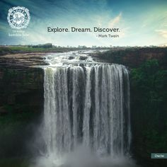 Madhya Pradesh Tourism website is state government's official website providing information on tourist places & destinations in MP, India. Government Website, State Government, Explore Quotes, Tourism Website, Madhya Pradesh, Tourist Places, Incredible India, Niagara Falls, Travel Inspiration
