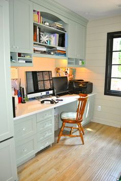 Computer Room Design, Pictures, Remodel, Decor and Ideas - page 9