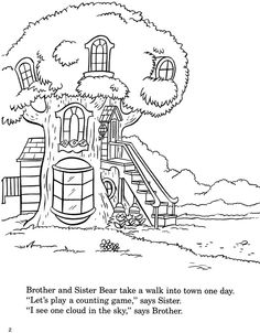The Berenstain Bears Printable Coloring Pages Nola My