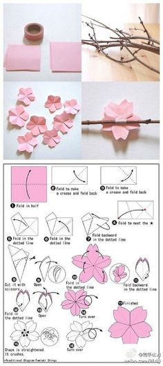 The cherry blossom theme for weddings and parties is a lovely one! We have a few DIY cherry blossom crafts for you to check out. First, from Beach House in the City, a DIY tutorial on how to make …: