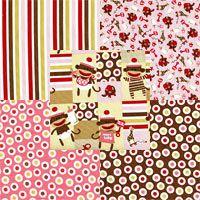 Zoe & Zack Fabric Bundle - Pink