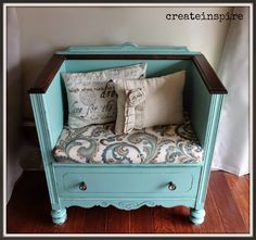 {createinspire}: Dresser turned Bench