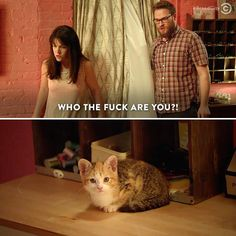 """""""Who the fuck are you?!"""" #BroadCity"""