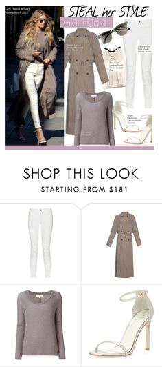 """Steal Her Style- Gigi Hadid"" by kusja ❤ liked on Polyvore featuring Tom Ford, J Brand, Raquel Allegra, Ray-Ban, IRO, Stuart Weitzman, Stealherstyle, celebstyle and gigihadid"