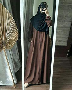 Modern Hijab Fashion, Muslim Women Fashion, Hijab Fashion Inspiration, Islamic Fashion, Abaya Fashion, Fashion Outfits, Cool Outfits, Hijab Trends, Mode Abaya