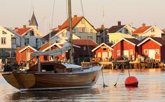 Käringön, a small Island off the west coast, Sweden. A great place for a fall get away!