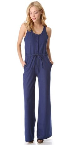 Tucker Binded Tank Jumpsuit. LOVE this but would never dare to wear it!