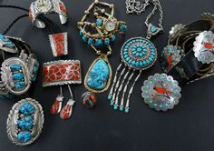 fine example of zuni art circa 1960  credits:  Perry Null Trading