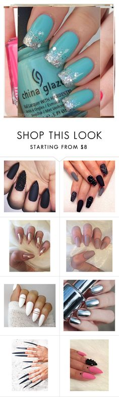 """""""Ignore"""" by augustalsinaswifeee ❤ liked on Polyvore featuring Rave Nailz"""