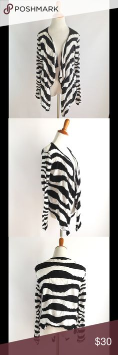 Free people medium cardigan button wrap striped Good condition Free People Sweaters Cardigans