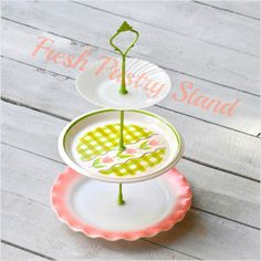 Scissors and Spice: Giveaway: Fresh Pastry Stand! cake stand for weddings, baby showers, home entertaining