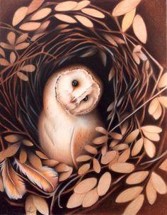 Pastell-und Aquarell- Zeichnungen von Andrea Rieck