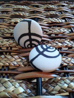 Reiki Symbol  Cho Ku Rei Symbol Earrings by BANGLEBOO on Etsy, $10.00
