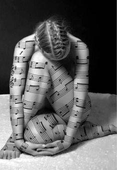 Lovely music score