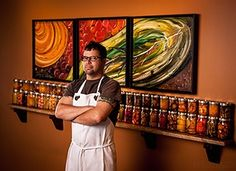 Chef Anthony Lamas of Seviche in Louisville, KY. Photos by Ash Newell Photography.