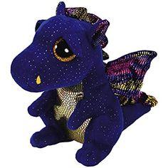 86058419dda TY Beanie Boo Plush - Saffire the Dragon 15cm Toys For Girls