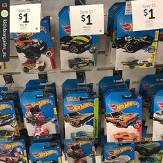 #target has basic #hotwheels cars #onsale for #halfprice now only $1 each. Thx @bargainkidsau