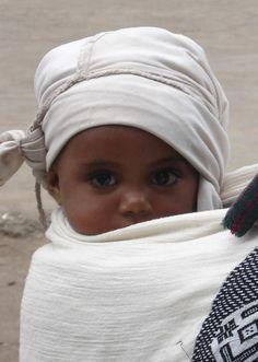 Beautiful Ethiopian baby - It is those Ethiopian eyes that haunt me.