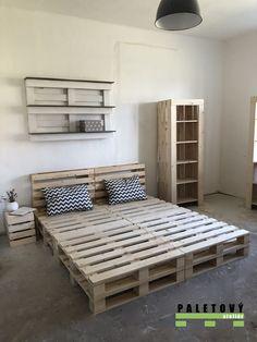 Pallet, Room, House, Furniture, Home Decor, Ideas, Wooden Pallet Beds, Bedroom, Shed Base