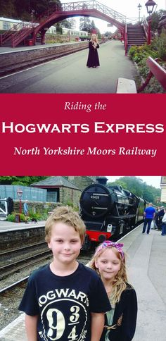 North Yorkshire Moors Railway (NYMR).  We rode the Hogwarts Express into Hogsmeade Station. It's a vintage steam train on the North Yorkshire Moors, passing through Goathland, Levisham, Pickering and Whitby.  Great day out with the kids and lots of Harry