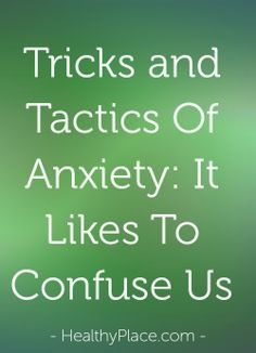 Anxiety has many tricks and tactics. It tells us lies to keep us at its mercy. What lies has it told you? Anxiety doesn't have to be the boss. You have control.