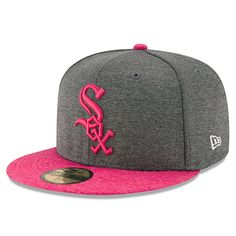 2679358d0e3 Chicago White Sox New Era Mother s Day 59FIFTY Fitted Hat - Graphite