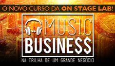 A trilha sonora de um grande negócio começa aqui. Até hoje, profissionais da área e estudantes saíam em busca de cursos de Music Business no exterior. Em 2016, a ON STAGE LAB, buscando preencher essa lacuna no Brasil, lança o já aguardado curso extensivo de MUSIC BUSINESS. #OnStageLab #MusicBusiness #livepass