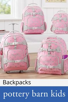 26dea290c5 Backpacks Girls Rolling Backpack