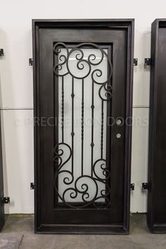 37 x 81 | Entry Iron Door, Custom Wrought Iron Doors, Wholesale Price