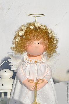 Peoples ręcznie.  Fair Masters - ręcznie.  Kup Christmas Angel.  Handmade.  Biały, prezent na każdą okazję
