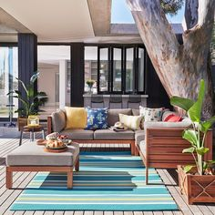 #spring is officially here and we couldn't be more thrilled that our #freedomnzsummer14 outdoor range has started arriving in stores too. Our Portsea 4 Piece Sofa Package in Natural ($1499) is one of our favourite pieces this season
