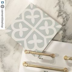 I normally prefer classic over trendy but @cementtileshop makes me want ALL the tiles! #Repost @cementtileshop  In stock Mahlia pattern in mint and white. #Repost @artisansignaturehomes  Getting things done on the first working day of the year.  Making selections with @gretchenblack for the master bath of one of our show homes coming up this spring in Norton Commons. #jasonandgretchenbuildahouse #cementtileshop #cementtiles #cementtile #concretetile #hydraulictile #encausticcementtile…
