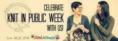Knit in Public Week - Day 4 - Stitch and Unwind