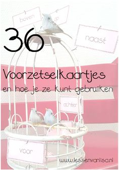 Miss Amanda, my dear colleague, gave me the idea of preposition cards. I have made a set of 36 pie School Info, Back To School, Fun Learning, Learning Activities, Learn Dutch, Dutch Language, Busy Boxes, 21st Century Skills, Spelling And Grammar
