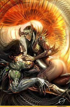 Image Comics , The Darkness , The Angelus