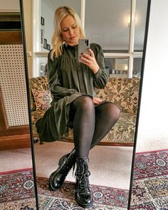 My Outfit, Claire, Ootd, Mirror, Sweaters, How To Wear, Outfits, Instagram, Dresses