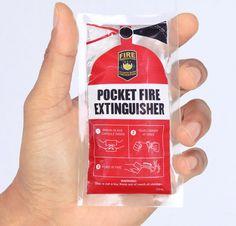 手のひらに収まる全く新しい消火器! スラム街での火事の予防を訴えるべく作られたアイディア   AdGang http://adgang.jp/2014/07/67081.html