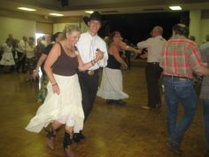 All different styles and ages enjoy Modern Square Dancing.  http://www.asquared.org/