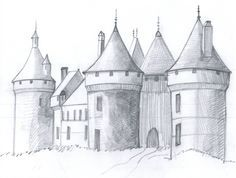 How to Draw a Medieval Castle in 6 Steps...then write a creative story about the witch/ princess/dragon who lives there! Love this!