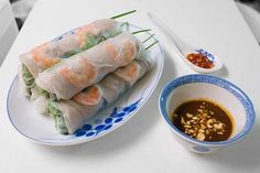 Vietnamese Spring Rolls Recipe (Gỏi cuốn)