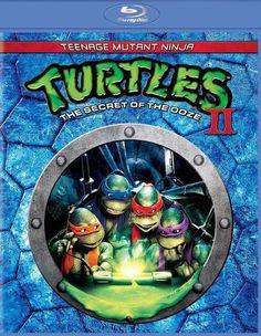 Teenage Mutant Ninja Turtles II: The Secret of the Ooze [Blu-ray] [1991]