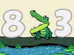 These alligators are hilarious! Sing along to this educational math song that teaches kids about 'greater than, less than, and equal to.' #brainzy
