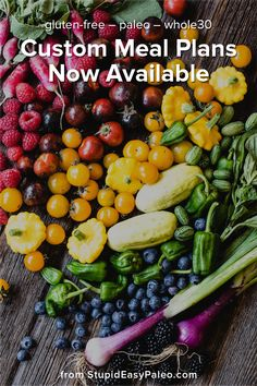 The most powerful custom meal plans on the planet now comes pre-loaded with over 250 of my best paleo, real food, gluten-free recipes. Get on board today! Seafood Recipes, Paleo Recipes, Stupid Easy Paleo, Whole 30 Meal Plan, Diet Smoothie Recipes, Paleo For Beginners, Paleo Meal Prep, Paleo Cookies, Paleo Life