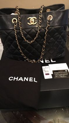 b24737751702 85 Best Chanel shopping tote images | Chanel shopping tote, Shopping ...