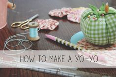Add a Vintage Touch to Your Kitchen with a Yo-Yo Hotpad | eHow Crafts | eHow - amy from nanacompany