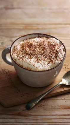 Mocha – chocolate-flavoured coffee – is an indulgent treat mid-morning or after dinner. Kitchen Recipes, Gourmet Recipes, Dessert Recipes, Bbc Recipes, Gourmet Foods, Desserts, Mocha Chocolate, Chocolate Flavors, B Food