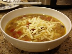 Mexican Chicken Soup from Mere et Filles
