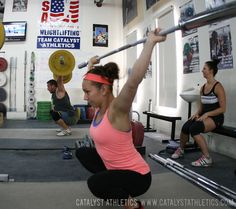 Exercises to do before you snatch, clean and jerk to improve mobility, posture and strength.