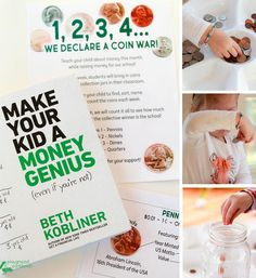 Coin Wars from @playgroundpb! What a fun way to teach kids about money and raise funds for charity, too! This is definitely @BethKobliner approved. MoneyGenius AD